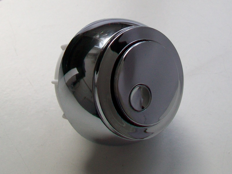Multiflush New Style Replacement Chrome Dual Flush Button
